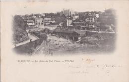 Bv - Cpa BIARRITZ - Les Bains Du Port Vieux (écrite En 1899, Cachets Biarritz Et Gand) - Biarritz