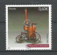 ANDORRE 2007 N° 643 NEUF** - Andorra Francese