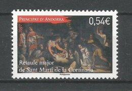 ANDORRE 2007 N° 648 NEUF** - Andorra Francese