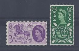 """GB..QUEEN ELIZABETH II.(1952-NOW)...."""" GENERAL LETTER OFFICE.""""..SET OF 2.....MNH. - 1952-.... (Elizabeth II)"""