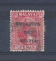 """MALAYA.."""" JAP. OCC..""""....KING GEORGE VI.(1936-52)...PERAK.....8c.....SGJ248...CDS.......USED.. - Groot-Brittannië (oude Kolonies En Protectoraten)"""