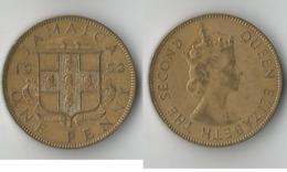 JAMAIQUE 1 PENNY 1953 - Jamaique