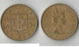 JAMAIQUE 1 PENNY 1953 - Jamaica