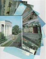 Russia/USSR 1990 Set Of 10 Postcards Ufa Postal Stationery Unused - Briefe U. Dokumente