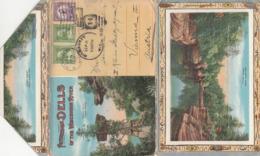 PICTURESQUE DELLS OF THE WISCONSIN RIVER, Mappe Mit 18 Ansichtskarten/Ansichten, Komplette Mappe Gel.1932 V. Milwa ... - Milwaukee