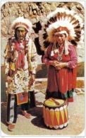 Carte Postale USA Santa-Clara  Chef Indien Caping And Jaro Très Beau Plan - Etats-Unis