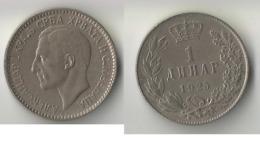 YOUGOSLAVIE  1 DINAR 1925 - Joegoslavië