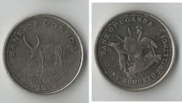 OUGANDA 100 SHILLINGS 1998 - Oeganda