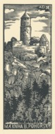 Ex Libris B. Pohorsky - Antonin Dolezal - Ex-libris