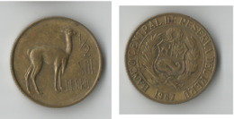 PEROU 1/2  SOL 1967 - Perú