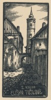 Ex Libris Elisky Tuslove - Antonin Dolezal - Ex-libris