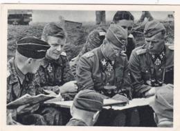Postkarte   Propagande Nazie Angriffsbefehl In Der Schlacht  Am Mius 1943 Militaires Allemand  Bataille  De Mius Prare - Germany