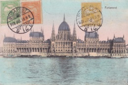 Budapest Parlament Circulée En 1918 - Hongrie