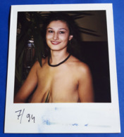 Vintage SEXY PIN-UP GIRL Photo - POLAROID Portrait - Hübsche Junge Frau, Jolie Jeune Femme, Pretty Young Woman [19-851] - Pin-Ups