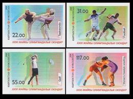 2016Kyrgyzstan 864-867b2016 Olympic Games In Rio De Janeiro - Summer 2016: Rio De Janeiro