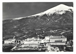 941 - AMATRICE RIETI ORFANOTROFIO MASCHILE VEDUTA AEREA 1961 - Rieti