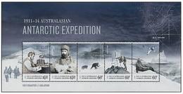AUSTRALIAN ANTARCTIC TERRITORY (AAT) • 2013 • Centenary Australian Antarctic Expedition - Miniature Sheet • MNH (1) - Nuovi