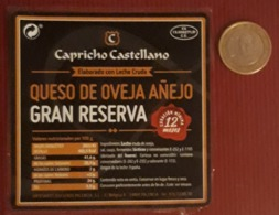 QUESO DE OVEJA AÑEJO GRAN RESERVA - CAPRICHO CASTELLANO. - Quesos