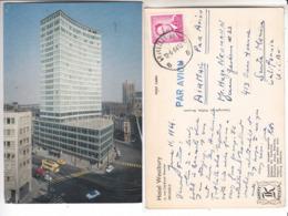 SP- BELGIQUE - BRUSSELS - BRUXELLES - HOTEL WESTBURY- Tram Jaune - Timbre - Cachet - 1964 - Cafés, Hôtels, Restaurants