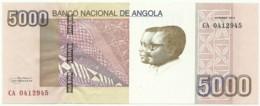 Angola - 5000 Kwanzas - 10.2012 - Pick 158 - Série CA - José Eduardo Dos Santos E Agostinho Neto 5 000 - Angola