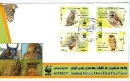 Iran 2011   SC#3050-53    MNH   FDC - Iran