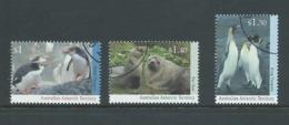 Australian Antarctic Territory 1993 Wildlife Series II Set Of 3 FU Melbourne CTO - Used Stamps
