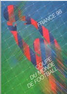 DOCUMENT FDC 1996 COUPE DU MONDE DE FOOTBALL - Documenten Van De Post