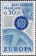 France Poste N** Yv:1521/1522 Yv:1,75 Euro Europa Cept Engrenages - Frankreich
