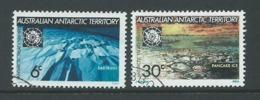 Australian Antarctic Territory 1971 Treaty Set Of 2 FU - Australian Antarctic Territory (AAT)