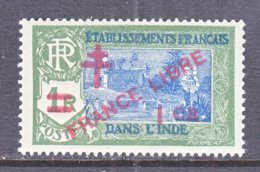 FRENCH  INDIA  198  **  FRANCE  LIBRE - Indien (1892-1954)