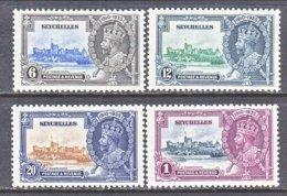 SEYCHELLES  118-21   *  SILVER  JUBILEE - Seychelles (...-1976)