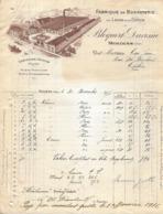 Facture Lettre 1915 - BLOQUERT & DAVESNE à MOLLIENS (60) - Bonneterie - Pas Carte Postale - - France