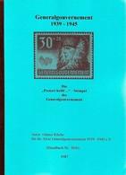 ArGe Generalgouvernement: Die Postort Heißt .... Stempel Im GG, Handbuch H16 - Occupation 1938-45