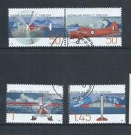 Australian Antarctic Territory 2005 Aviation / Aircraft Set Of 4 FU - Australian Antarctic Territory (AAT)