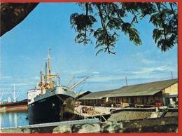 LA REUNION  - Le Port De La Pointe Des Galets -Navires à Quai- Paypal Sans Frais - Otros