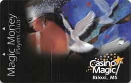 Casino Magic - Biloxi, MS - BLANK Slot Card - Casino Cards