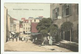 Cpa BEAUCOURT , Rue De La Mairie  , Animée - Frankreich