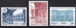2001 ITALIE  N** 2520 A 2522   MNH - 1946-.. République