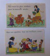 Sammelbilder, Walt Disney Micky Maus, Schneewittchen U. Sieben Zwerge♥  - Cromos