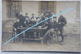 Photo ABL Soldats Belges En France Tenue Yser 1914-18 Guerre Militaria Belgische Leger - Guerra, Militari