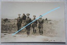 Photo ABL Officiers Belges 2ème Régiment De Ligne Manoeuvres Guerre Militaria Belgische Leger - Krieg, Militär