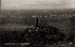 ! Alte Ansichtskarte Luftbild, Müggelturm, Berlin - Mueggelsee