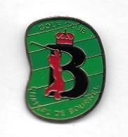 Pin's  Ville, Sport  GOLF  CLUB  CHÂTEAU  DE  BOURNEL  ( 25 ) - Golf