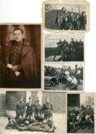 Photox6 ABL 1er Régiment CARABINIERS CYCLISTES Fietser Uniforme Militaria Belgische Leger - Guerre, Militaire
