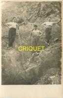 Métiers, Carte Photo D'un Groupe D'ouvriers Carriers, Belle Carte - Mines
