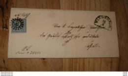 Lettre De BAVIERE, 3 Kreuzer Bleu, De WINDSHEIM 1859….................…MK-T28 - Bavière