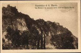 Cp San Marino, La Rocca E La Seconda Torre Visite Da Santa Maria - Saint-Marin