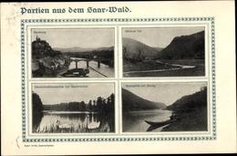 Cp Saarburg Saar Bei Trier Rheinland Pfalz, Okfener Tal, Deutschmühlenweiher, Saarpartie Bei Serrig - Autres