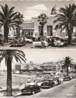SAINT RAPHAEL - 2 CPSM : Le Casino - Vue D'ensemble ( Beau Plan De Voitures ) - Saint-Raphaël