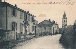I117 - 01 - SAINT-RÉMY - Ain - Mairie Et école - France